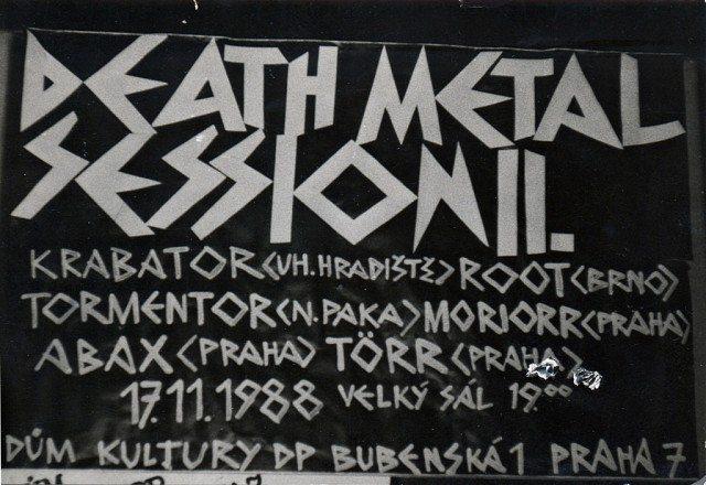 ČESKOSLOVENSKÉ METALOVÉ FESTIVALY ZA DOBY SOCIALISMU